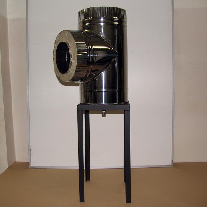 Консоль опорная для дымохода из нержавеющей стали